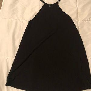 Black High Neck Dress